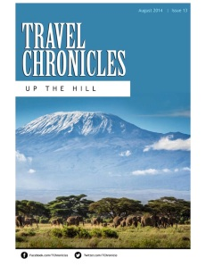 Travel Chronicles Aug 14 cover
