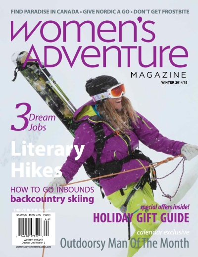 womens adventure winter 2014-15 cover